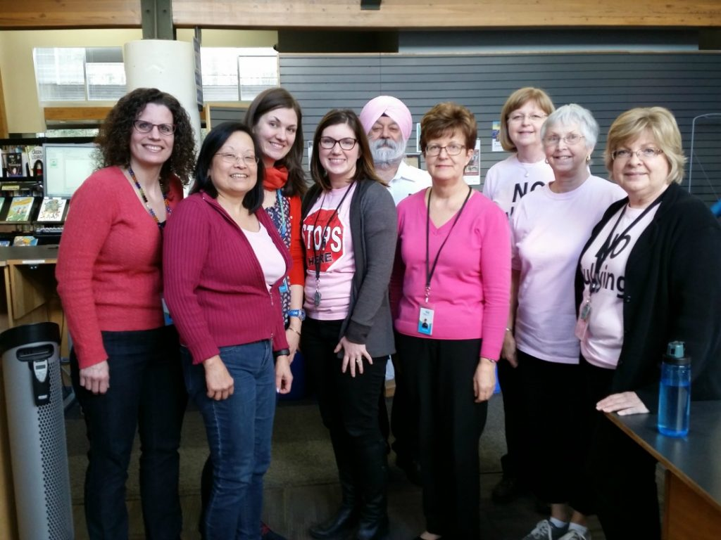 Pink Shirt Day 2017 -- Newton Library