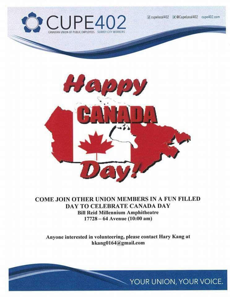 Canada Day @ Bill Reid Millennium Amphitheatre  | Surrey | British Columbia | Canada